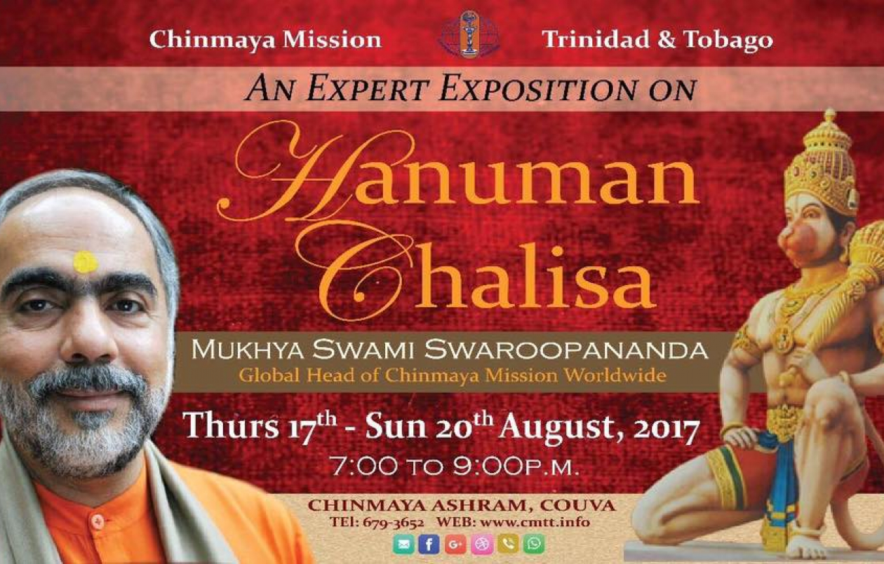 Hanuman Chalisa Yajna by Global Head of Chinmaya Mission