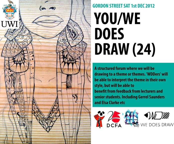 We Does Draw: 24. Open Studio
