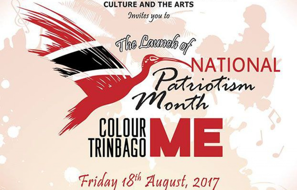 The Launch of National Patriotism Month 2017: Colour Me Trinbago