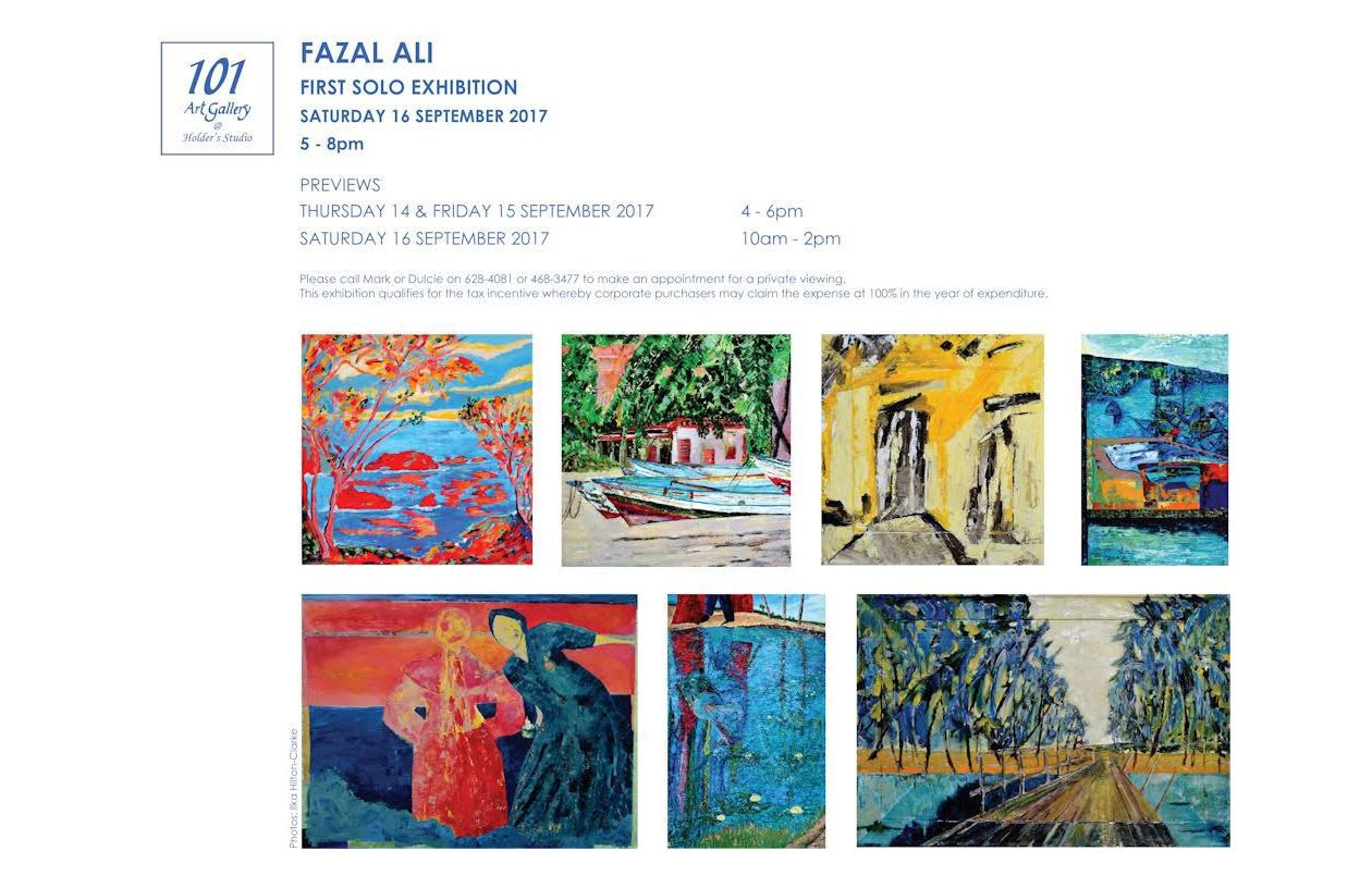 Fazal Ali First Solo Exhibition