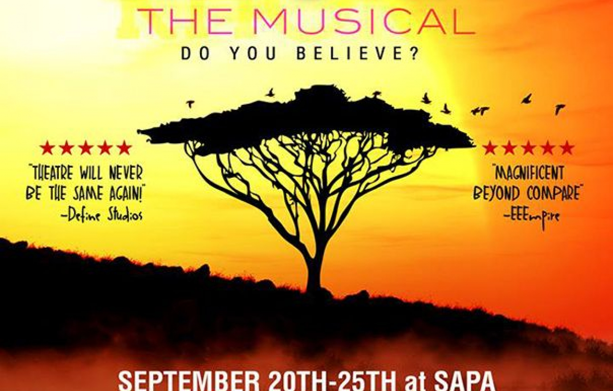 KHONA - The Musical: 20-25 September 2017 at SAPA