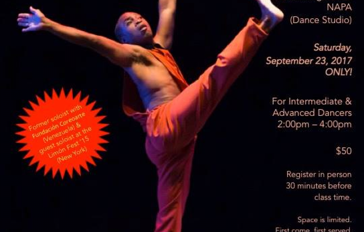 Master Class In Contemporary Dance With Terry Springer