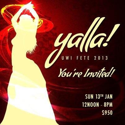 UWI Fete 2013: Yalla