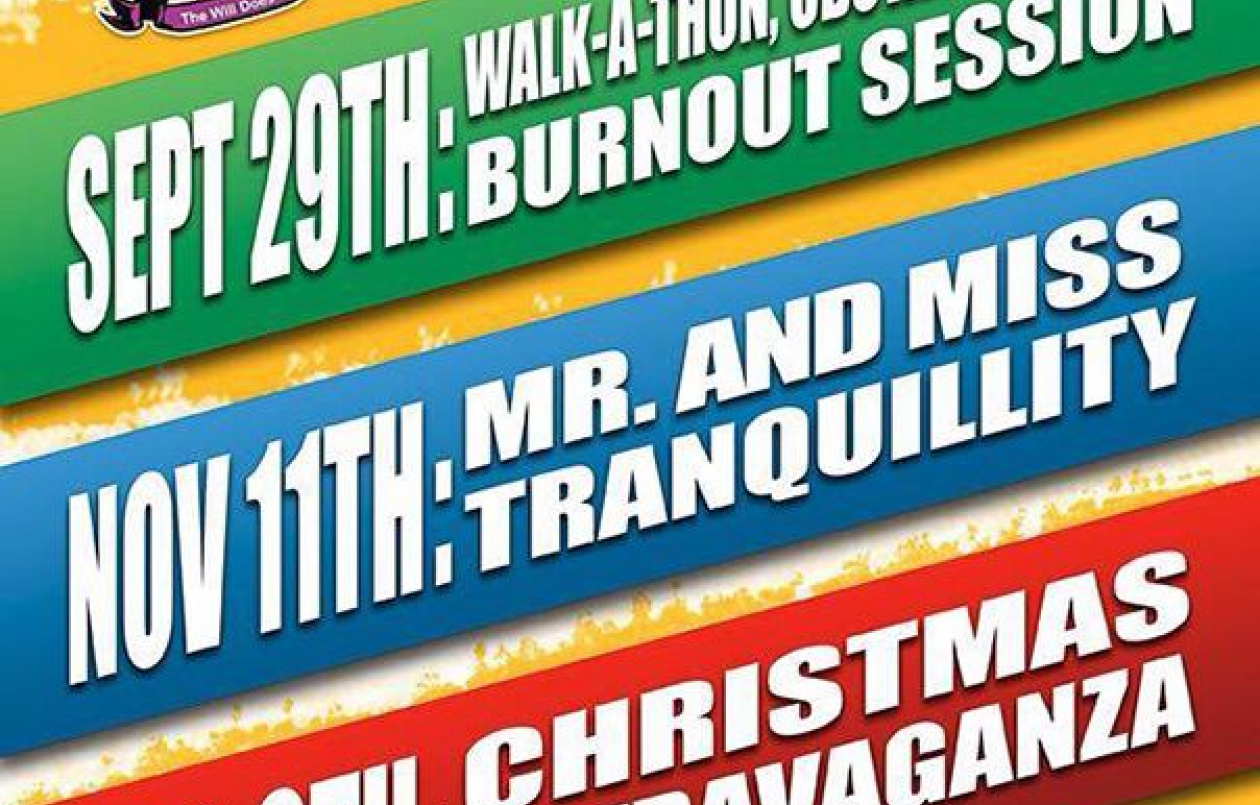 Tranquility Secondary School 2017 Walk-a-Thon, Obstacle Course & Burnout Session