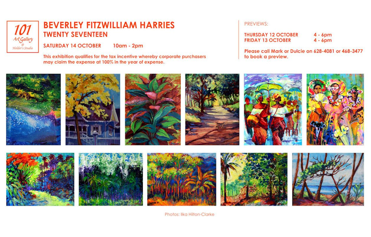 Twenty Seventeen: Exhibition by Beverley Fitzwilliam Harries