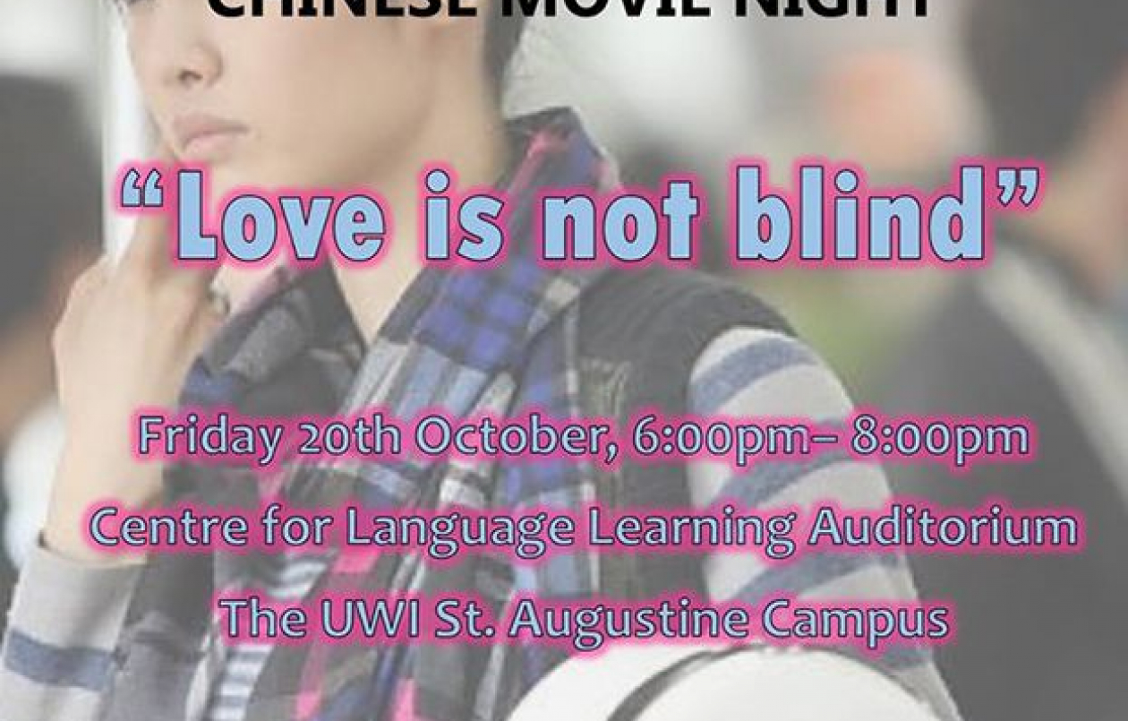 Chinese Movie Night: Love Is Not Blind