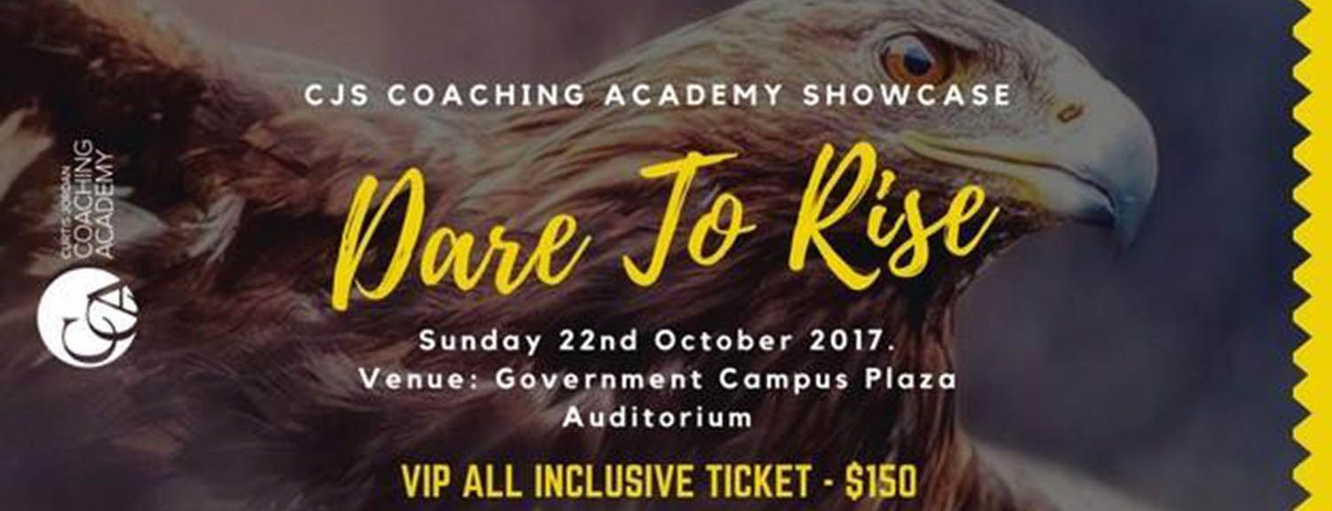 CJs Coaching Academy Showcase Concert - DARE to RISE