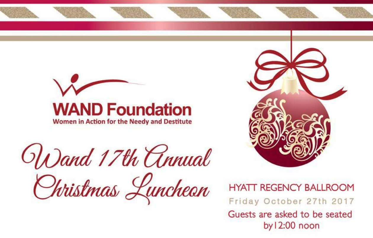 WAND Foundation's 17th Annual Christmas Charity Fundraising Luncheon