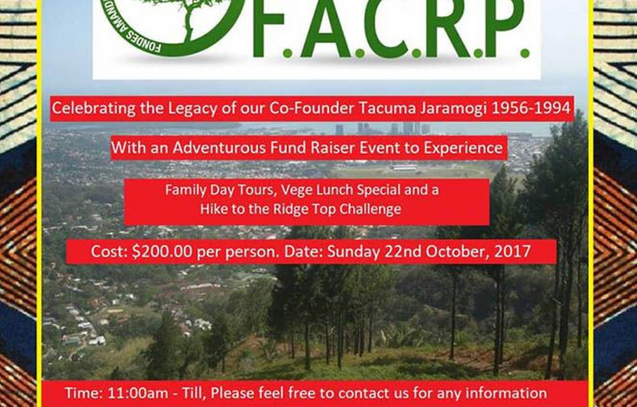 Celebrating FACRP 35th Anniversary and Tacuma Jaramogi Legacy
