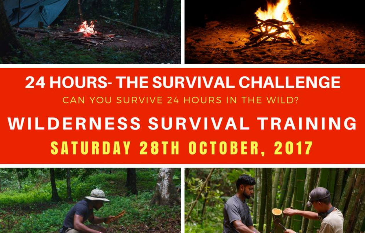 24 Hours - The Wilderness Survival Challenge