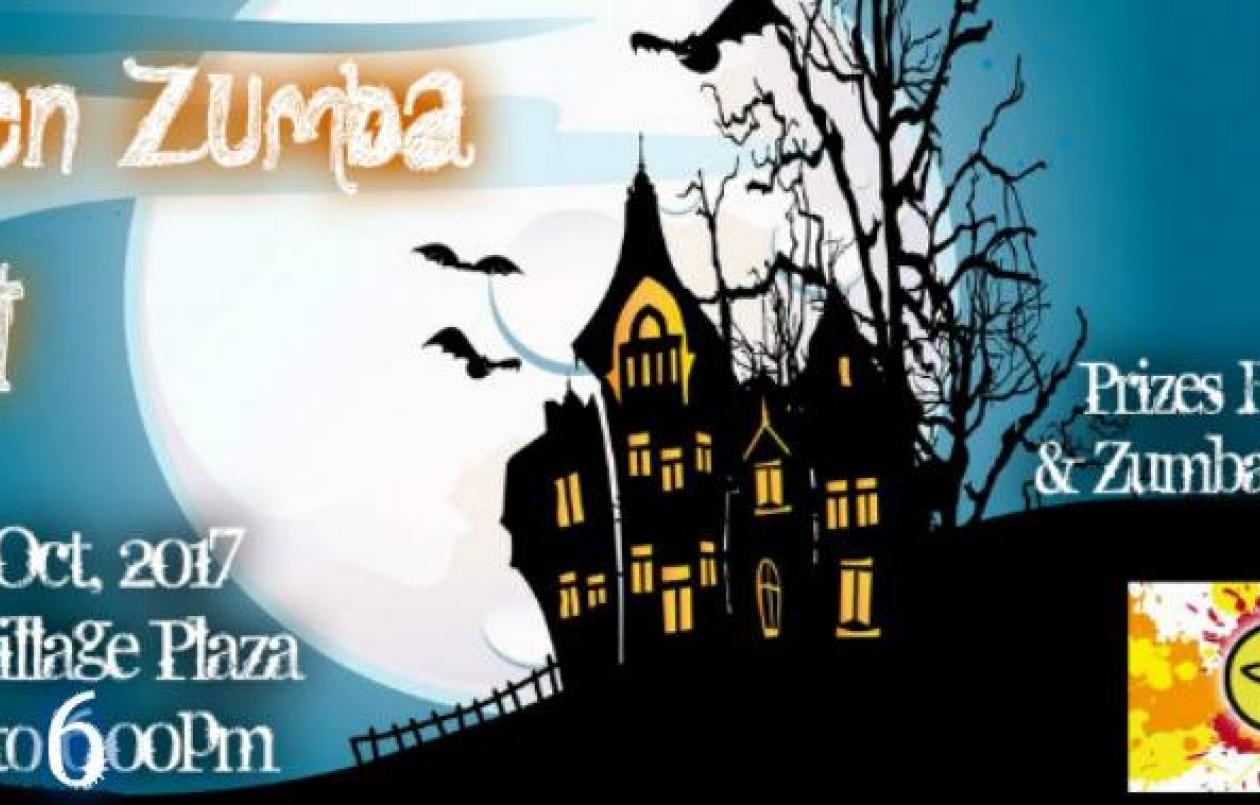 Halloween Zumba Burn Out