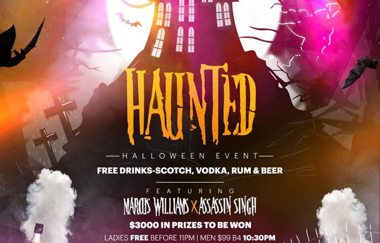 HAUNTED - FREE DRINKS