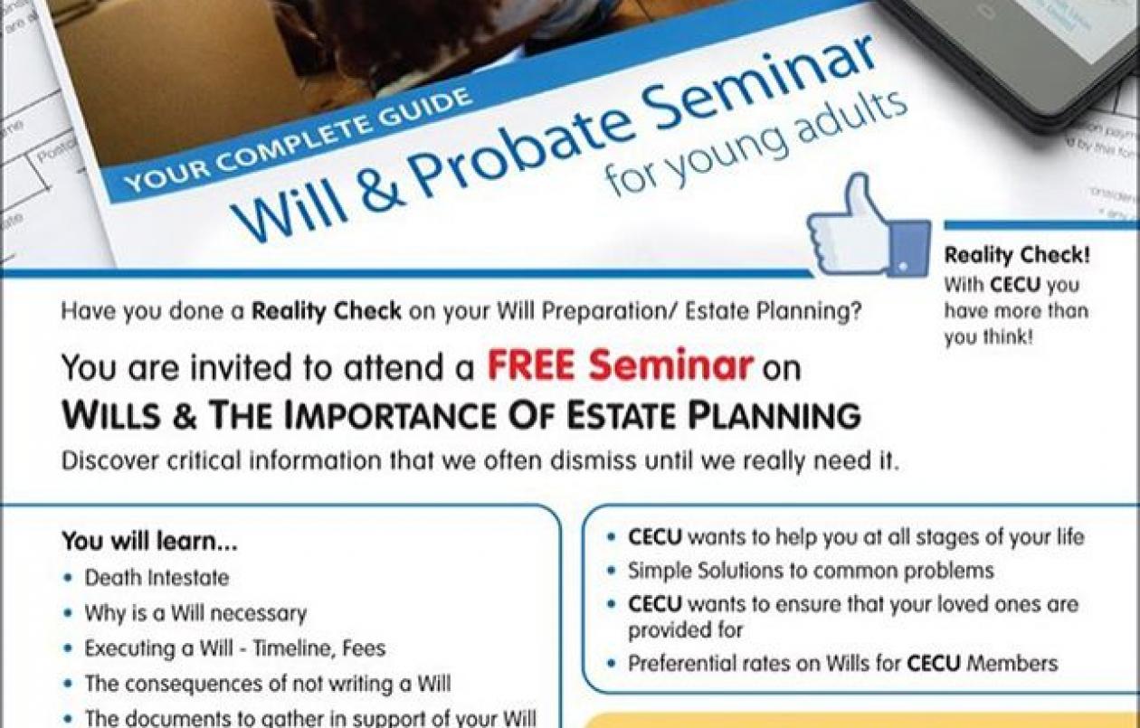Wills & Probates Seminar