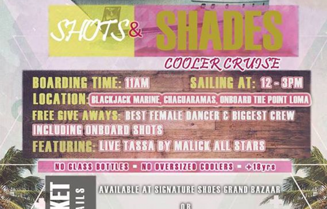 Shots & Shades Cooler Cruise