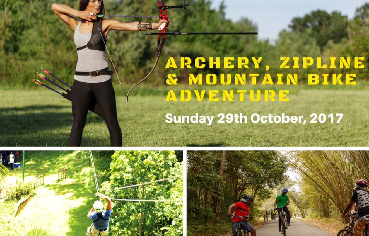 Archery, Zipline and Mountain Bike Adventure 4