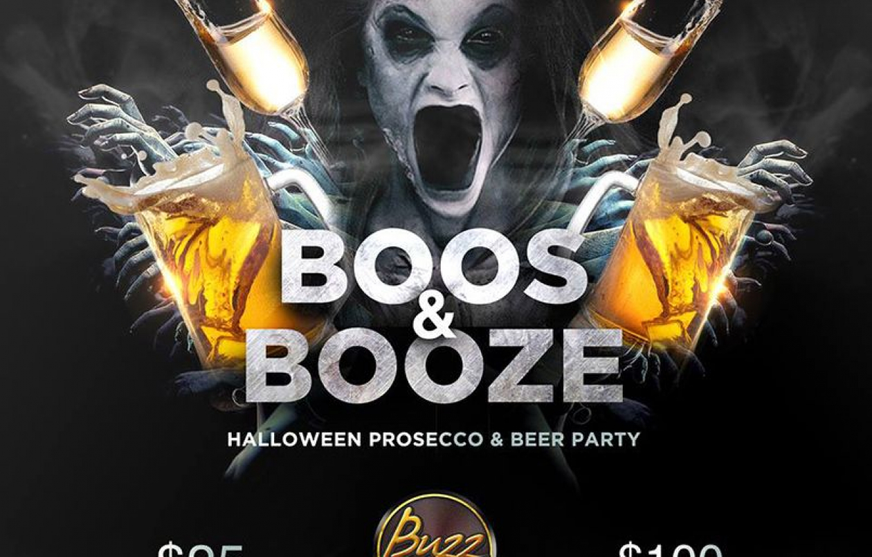 Boos & Booze Buzz Halloween Party