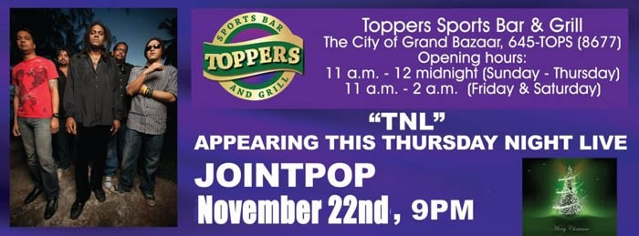 Thursday Night Live Featuring Jointpop