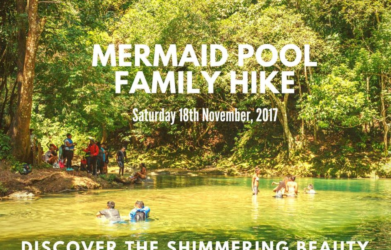 Mermaid Pool Family Hike - 18.11.17