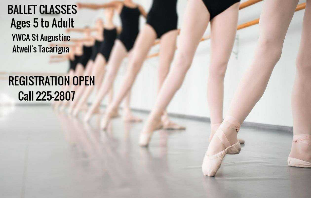 BALLET CLASSES-EARLY REGISTRATION OFFER