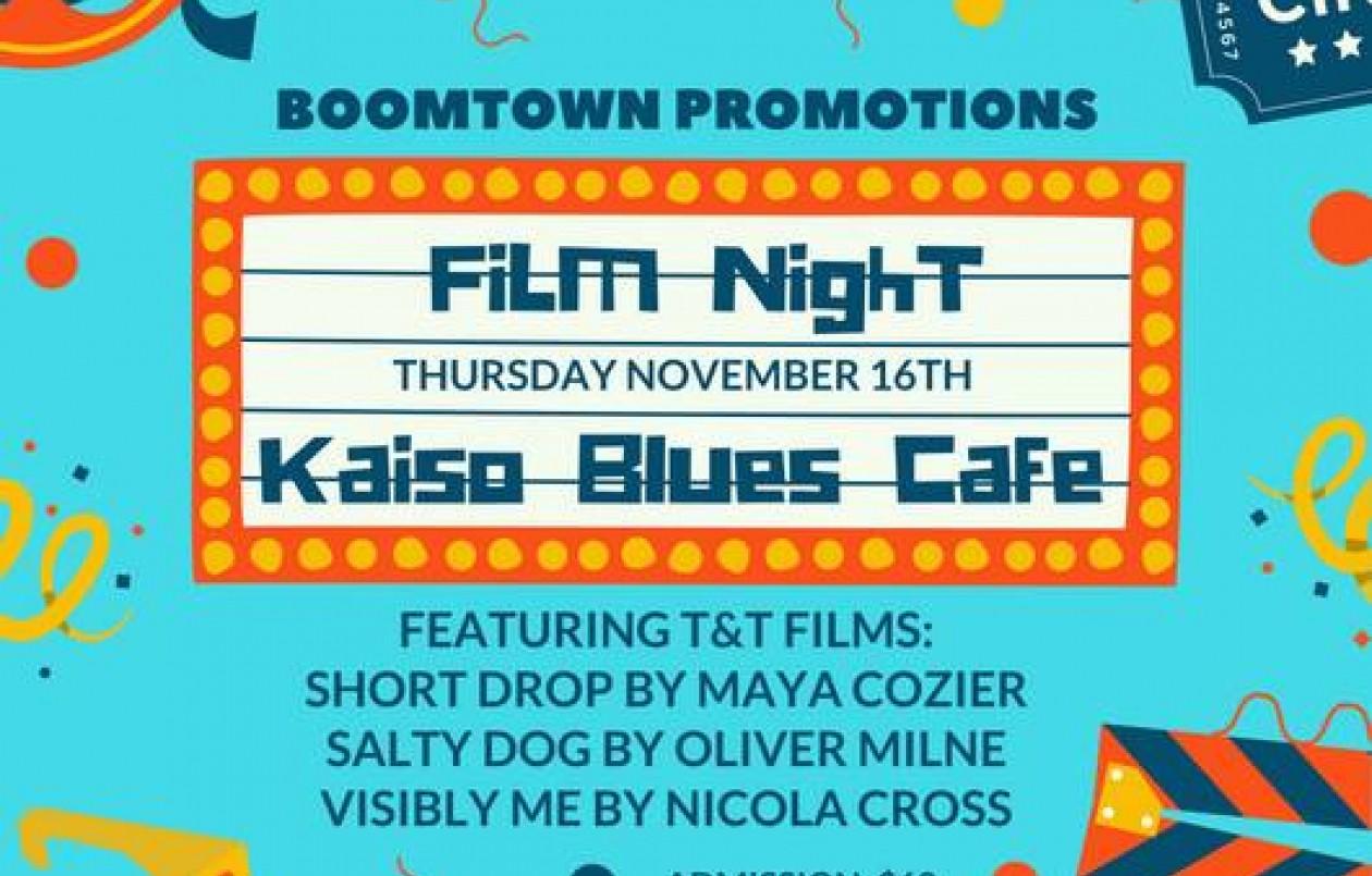 Film Night At Kaiso Blues - 16.11.17