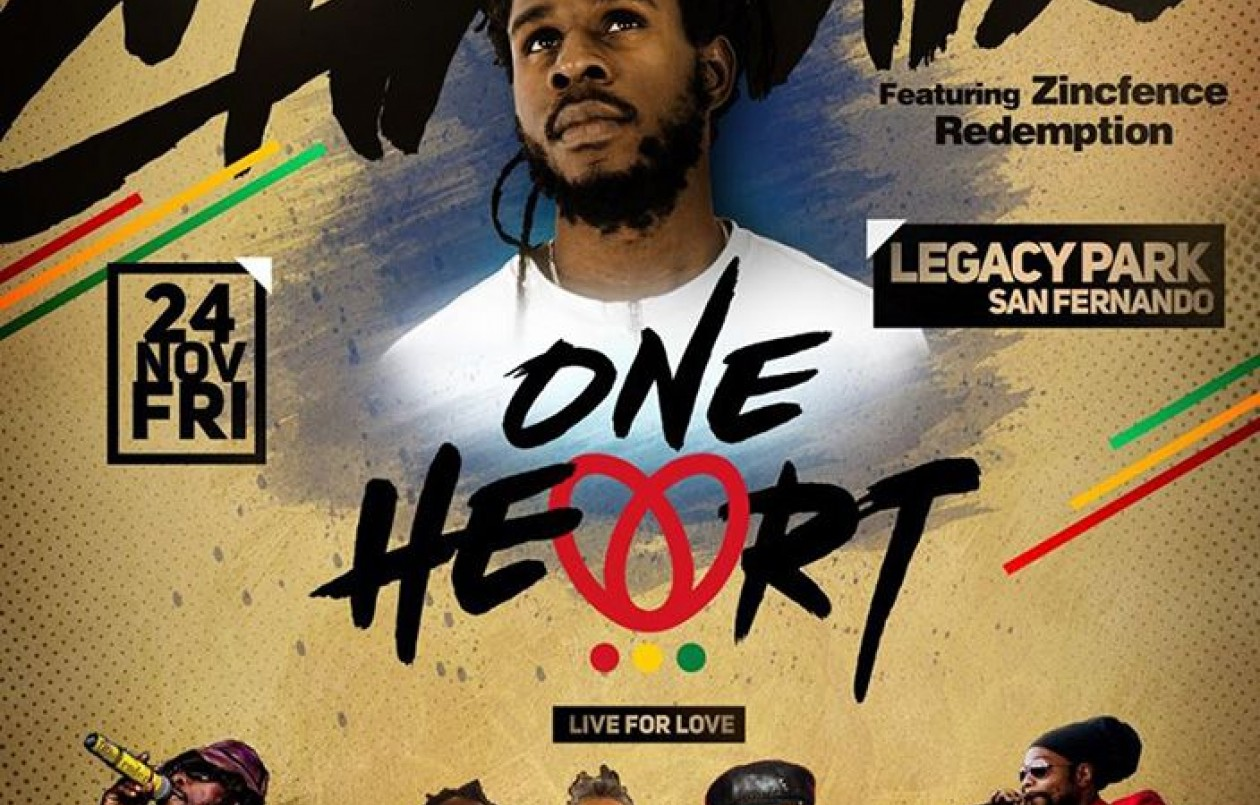 One Heart - Live For Love! - Feat. Chronixx Live