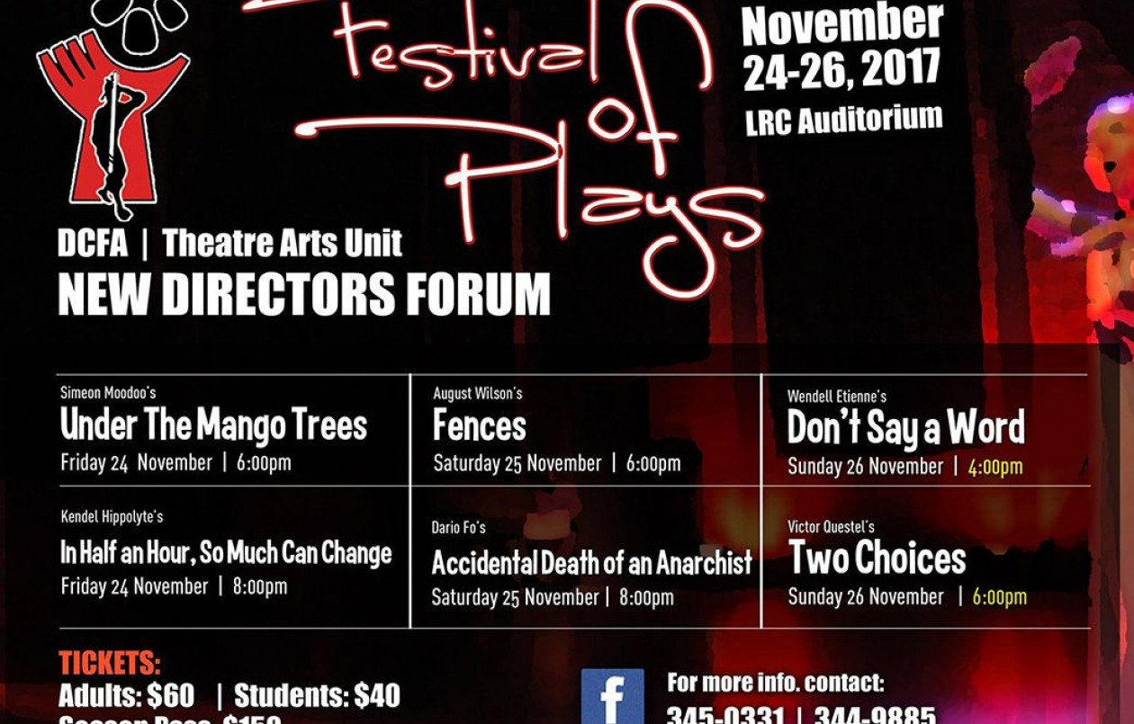 2017 New Directors Forum - A Festival of Plays