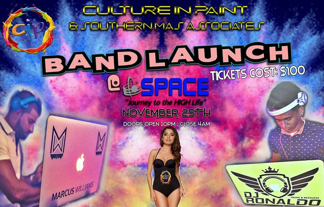 Culture In Paint & Southern Mas Associates 2018 Band Launch