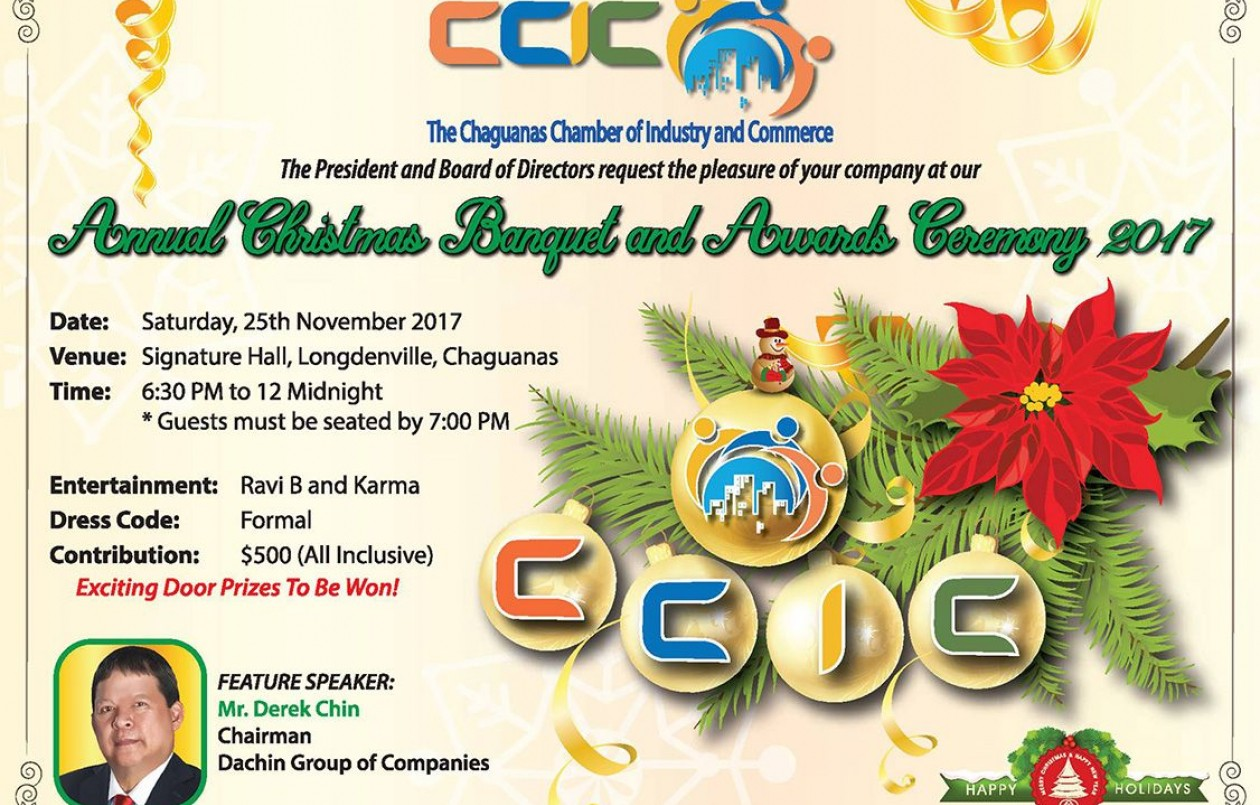 CCIC Annual Christmas Banquet and Awards Ceremony 2017