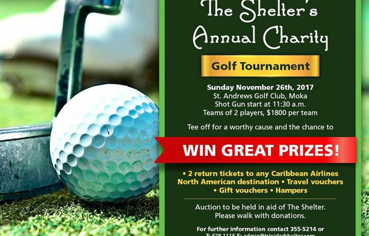The Shelter's Charity Golf Tournament 2017