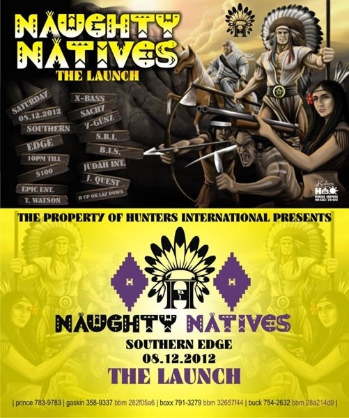 Naughty Natives: The Launch