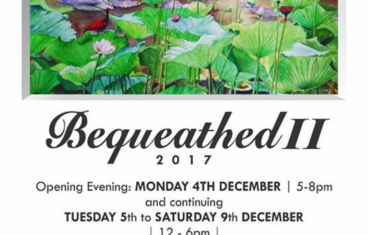 Bequeathed II 2017