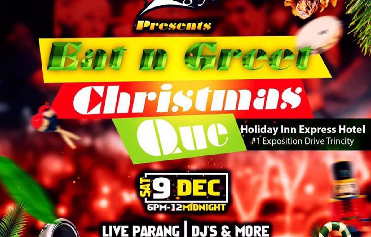 Eat n Greet Christmas Que