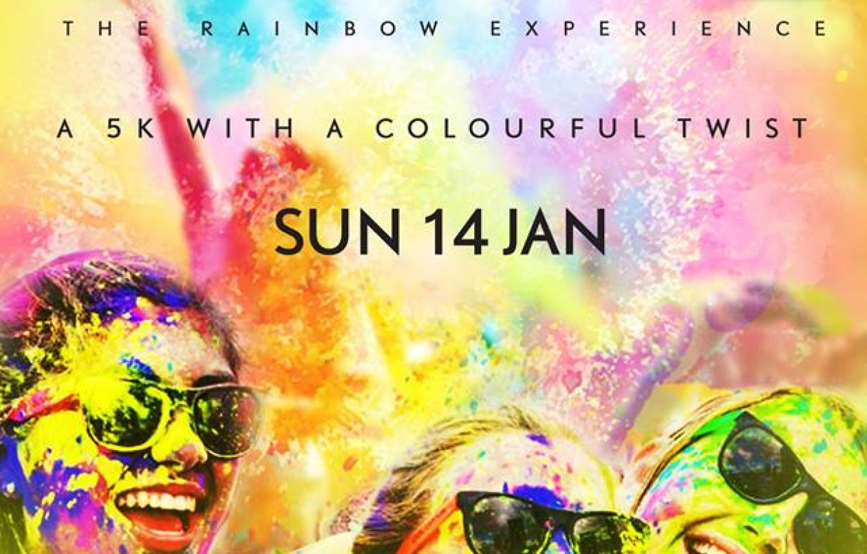 THE 5TH ANNUAL CARIBBEAN COLOUR SPLASH 5K RUN/WALK