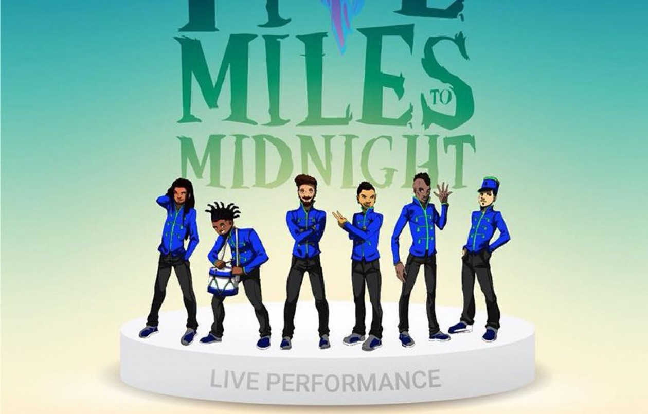 Five Miles To Midnight: Live Performance + Merch Pop Up Shop