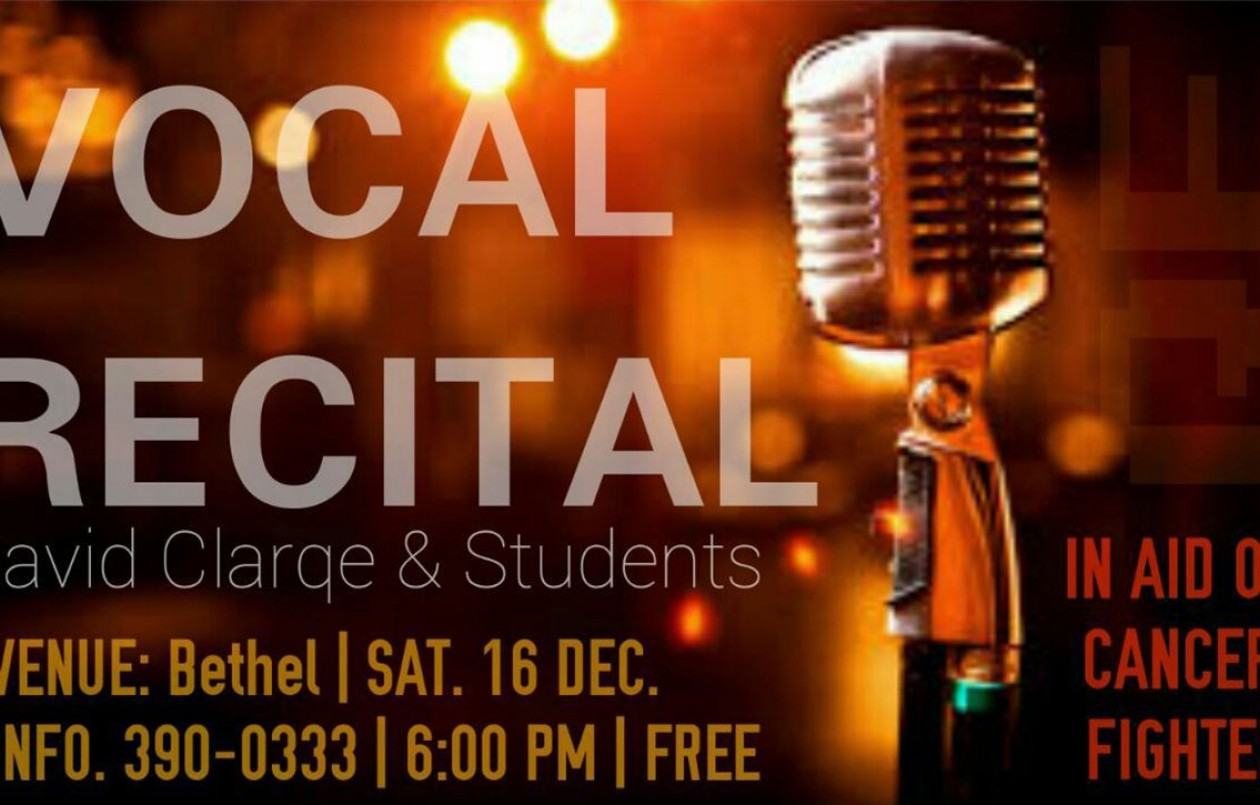 Vocal Recital - In Aid Of Cancer Fighter