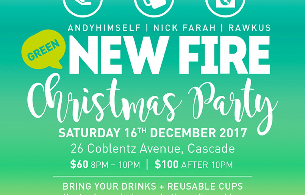 NEW FIRE Green Christmas Party 2017