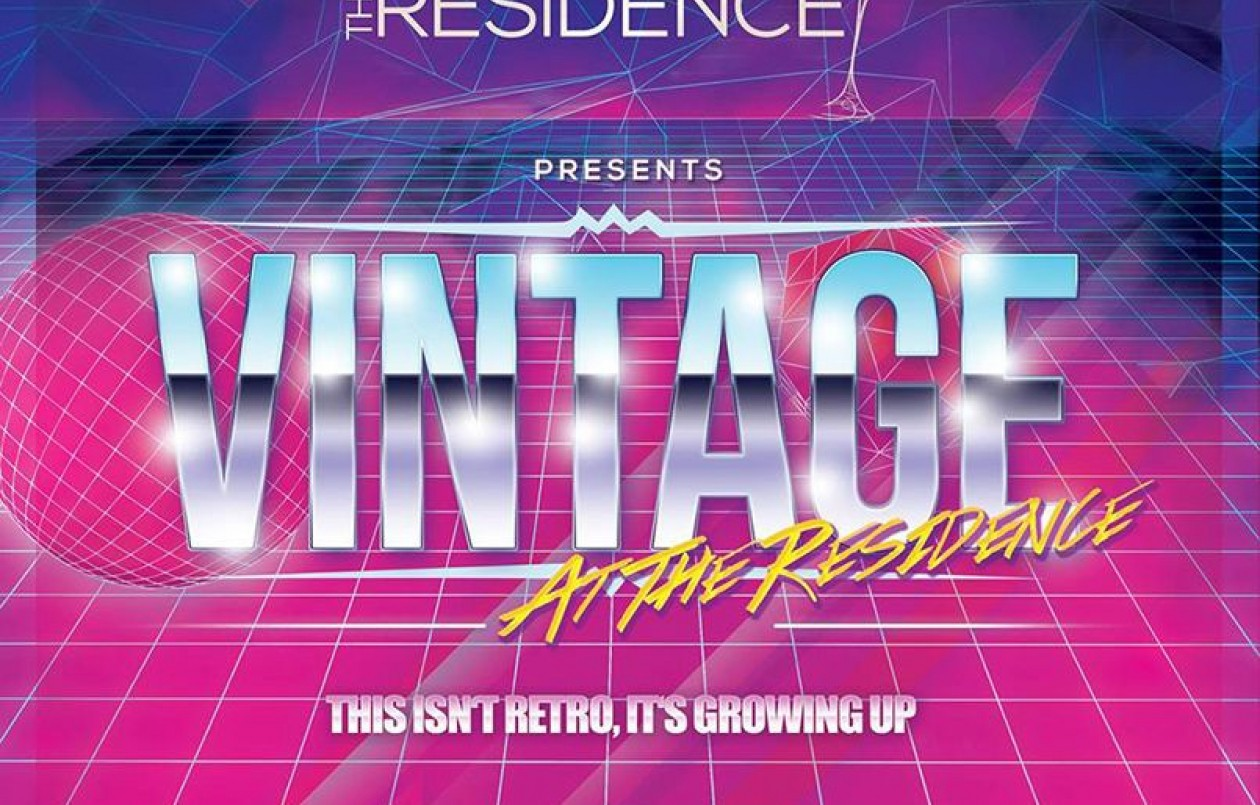 Vintage at The Residence: 16.12.17