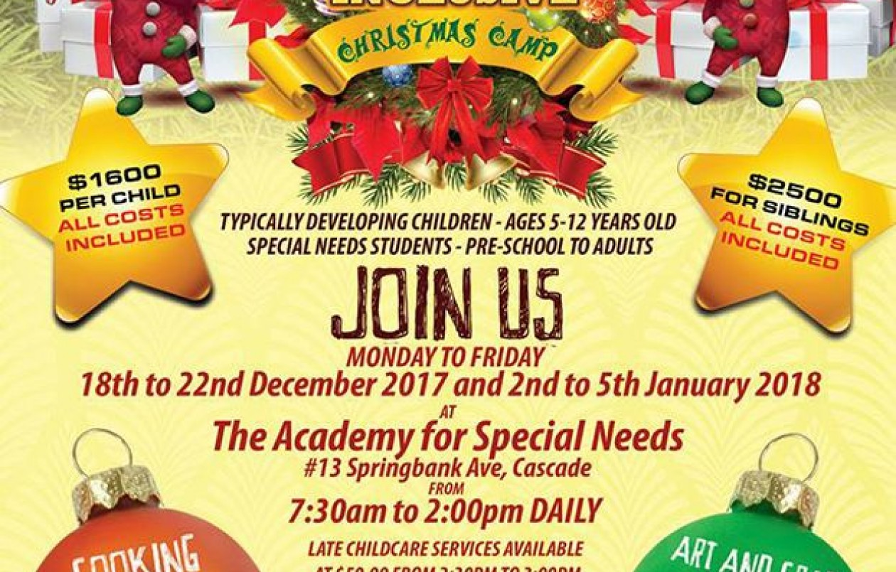 Kreative Kids Inclusive Camp - Christmas Camp 2017 Week 2