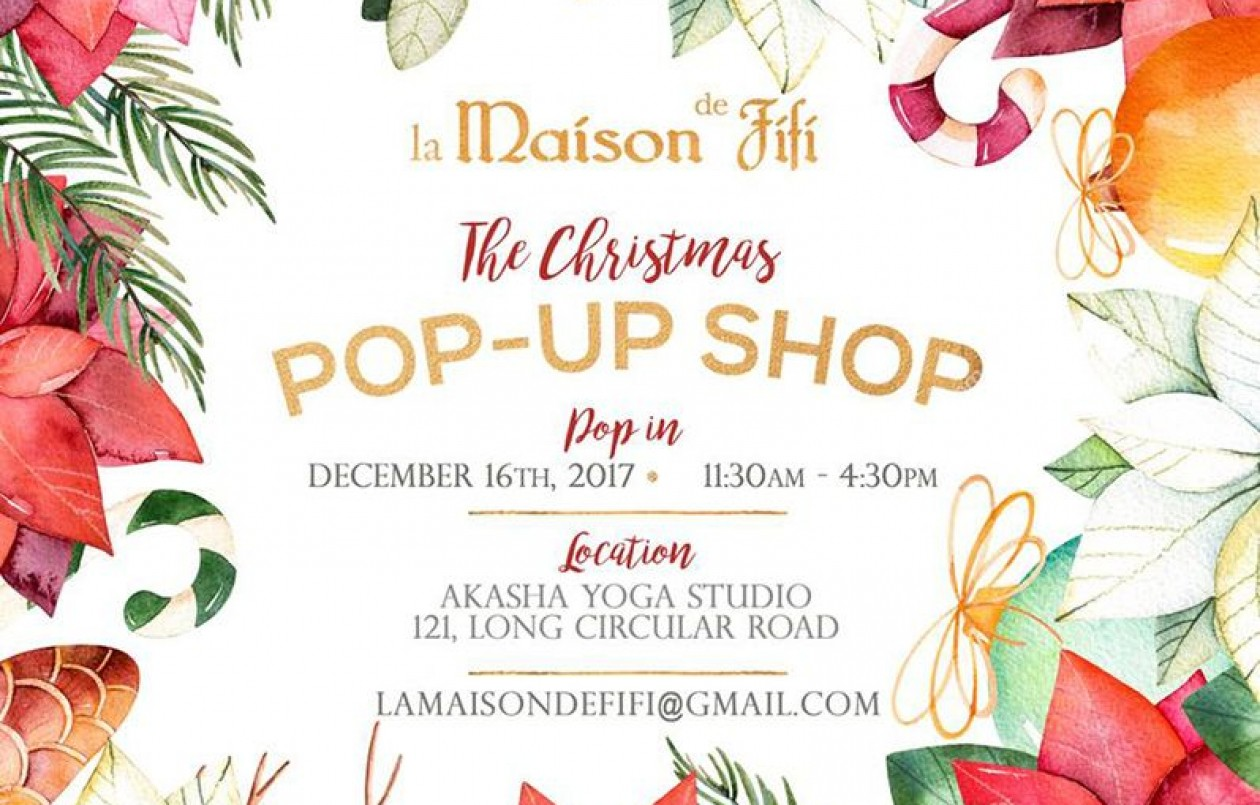 Maison Fifi Christmas Pop Up Shop