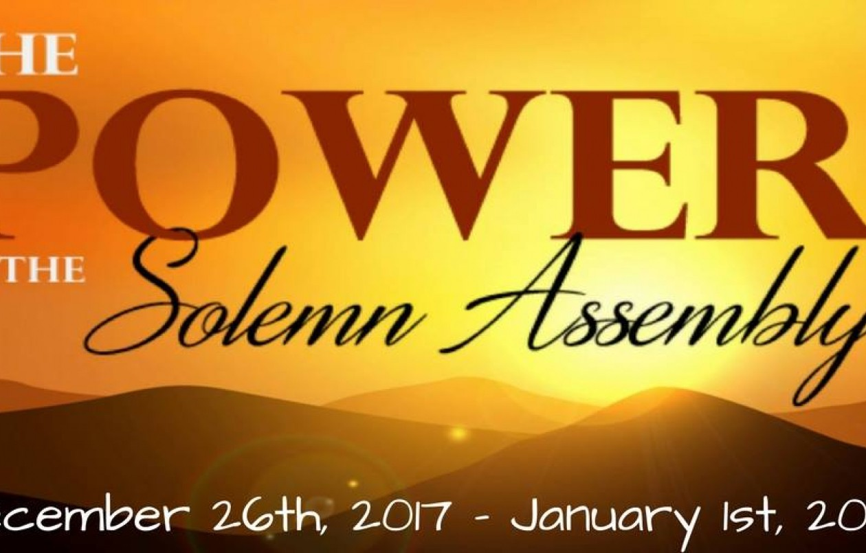 The Power Of The Solemn Assembly