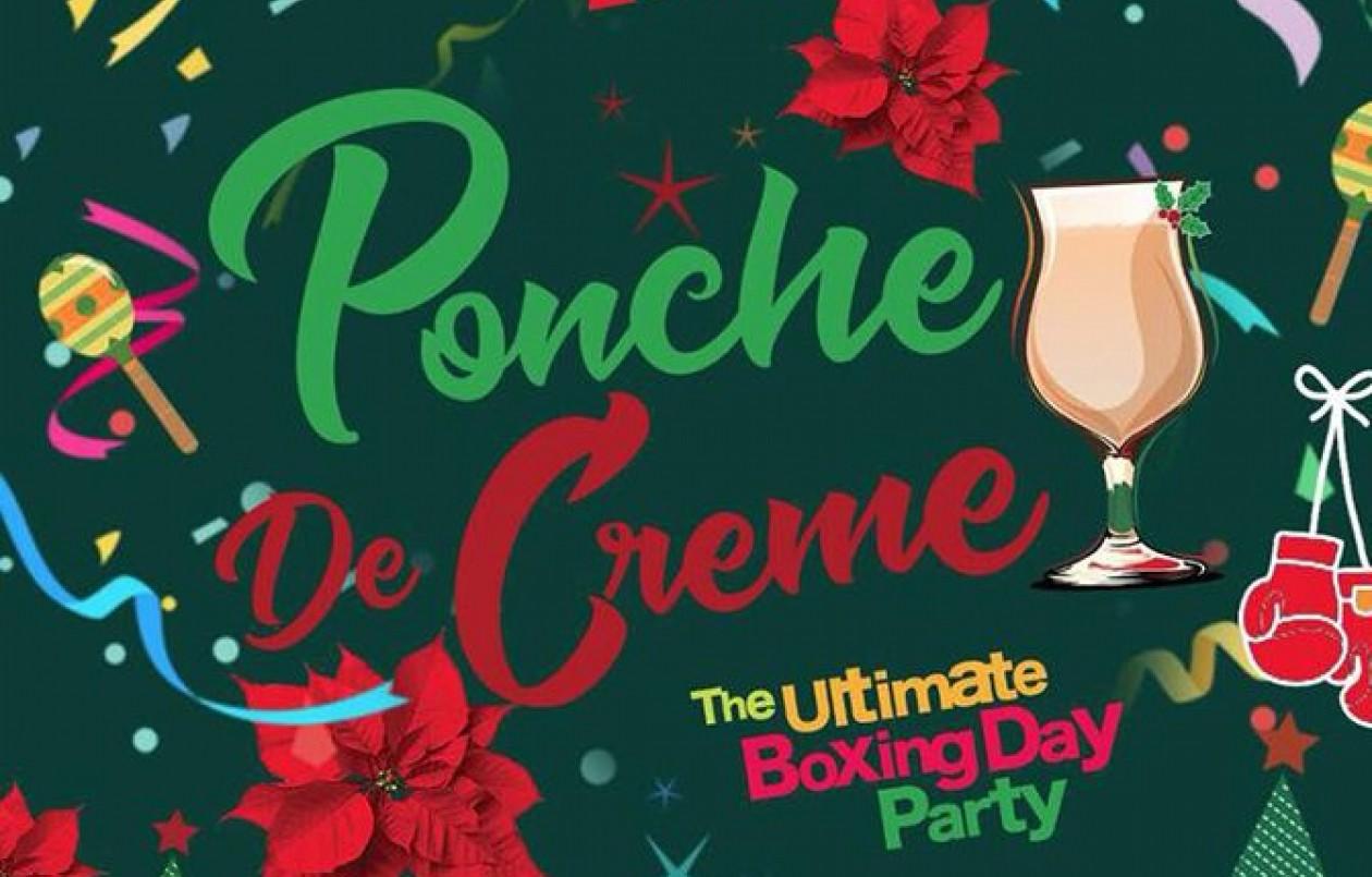 Ponche De Creme! Boxing Day Party!