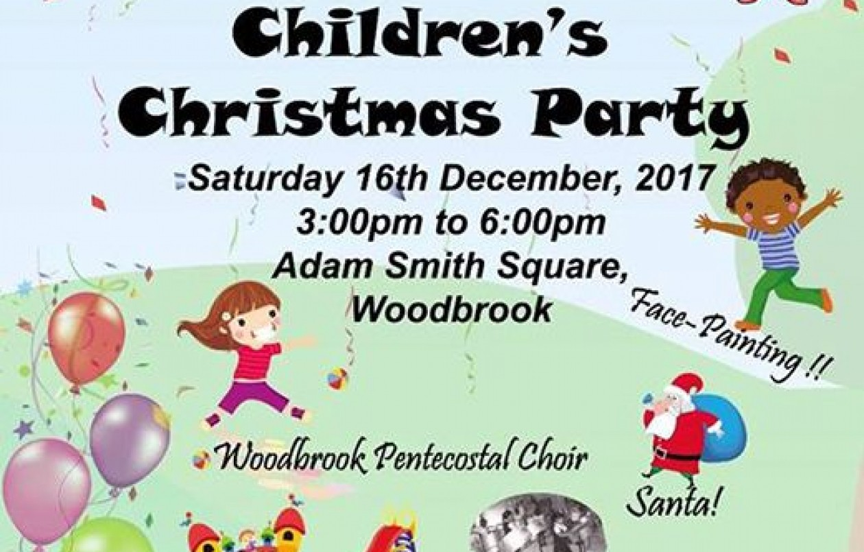 Woodbrook Children's Christmas Party 2017