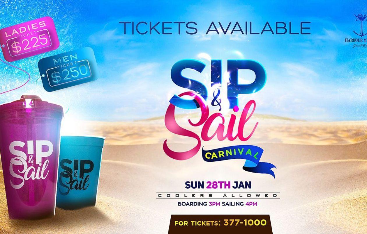 Sip & Sail Carnival Cooler Cruise 2018