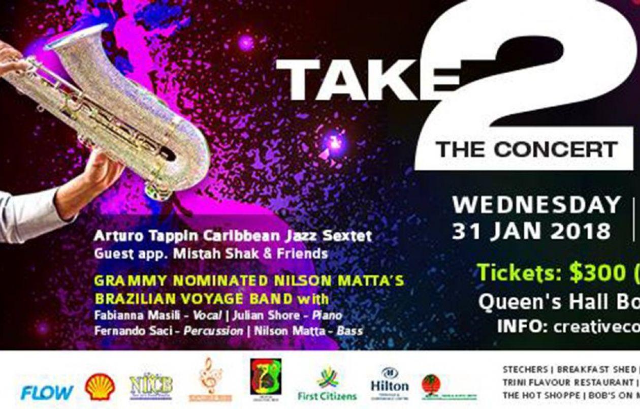 Take 2 The Concert: Afro Calypso & Latin Jazz Fusion