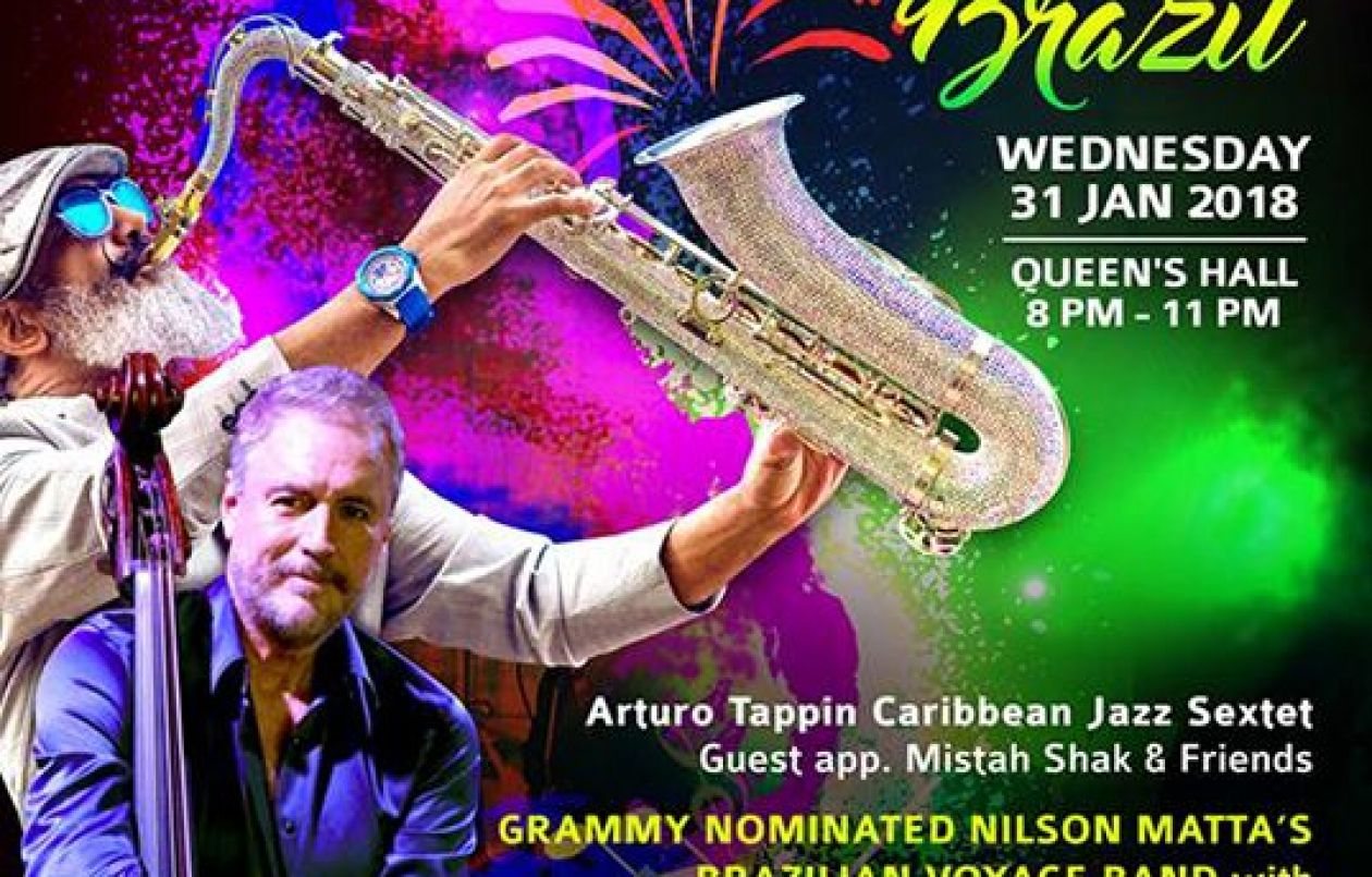 Take 2 The Concert: Afro Calypso & Latin Jazz Fusion - Journey To Brazil