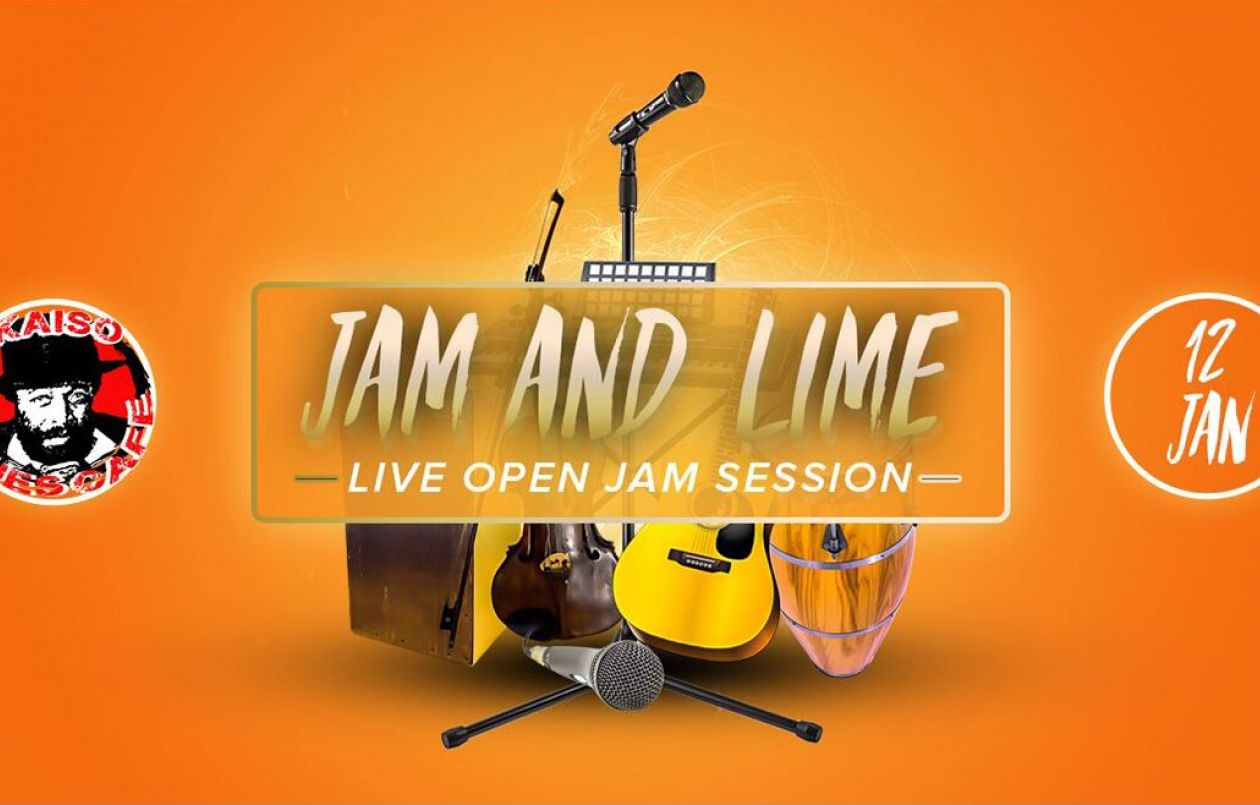 Jam & Lime (Open Mic Session): 12.1.18