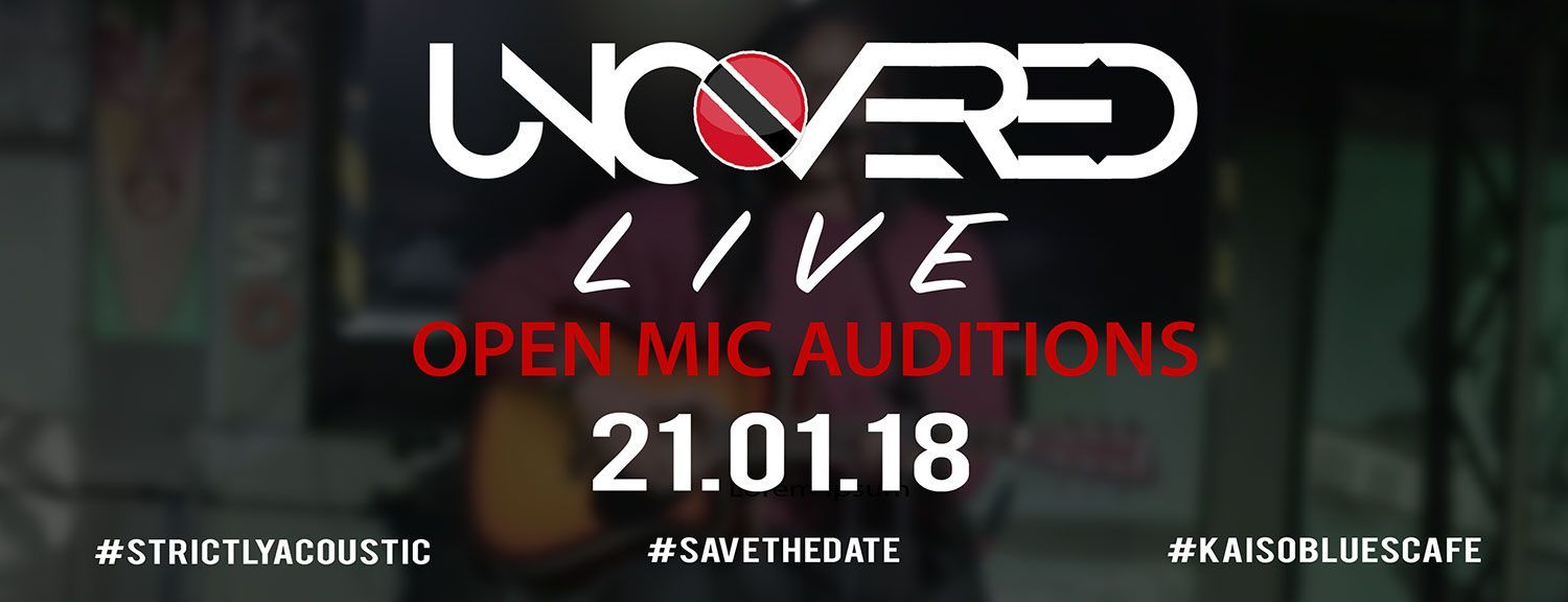 Uncovered Live - Open Mic Auditions Show #1 2018
