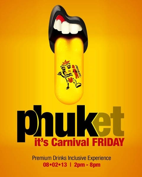 Phuket... It's Carnival Friday