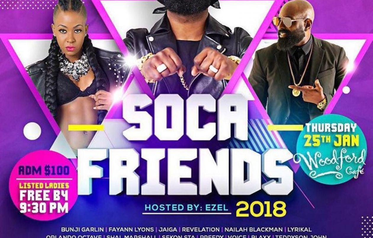 Soca Friends 2018