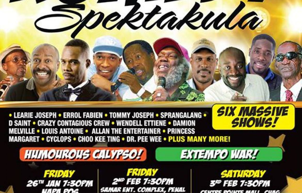 Karnival Komedy Spektakula 2018: Centre Of Excellence